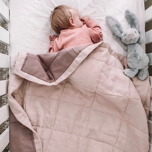PEONY + ROSEWOOD QUILTED BLANKET / PLAYMAT