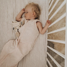 Load image into Gallery viewer, Waffle Swaddle/Sleeping Bag in Blush