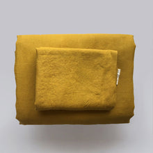 Load image into Gallery viewer, MUSTARD DUVET SET