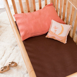 COT SIZE MUD FITTED SHEET