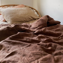 Load image into Gallery viewer, ALMOND + MUD DUVET SET