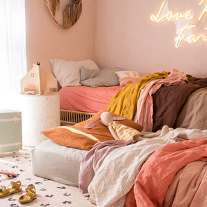 FLOSS + CORAL DUVET SET