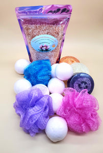 Peaceful Pond Himalayan Bath Salts Kit