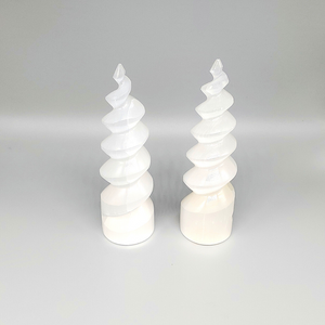 "Selenite Towers Small Swirly 6"" TALL"
