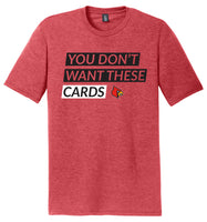Tri-Blend T-Shirt <br> D/2 - Red