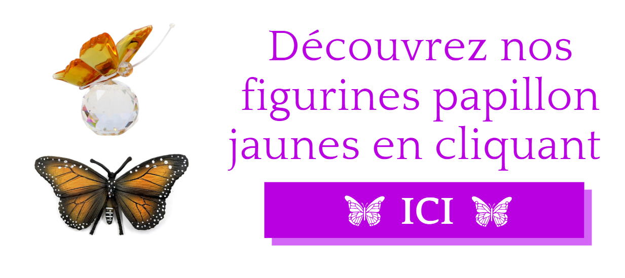 Figurines papillon