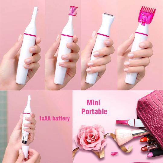 5-In-1 Portable Hair Remover (for sensitive skin) - Lowest Price Ever