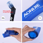 SD13-600 SOFT FLASK AONIJIE PLEGABLE CON PAJITA 600ML 58g