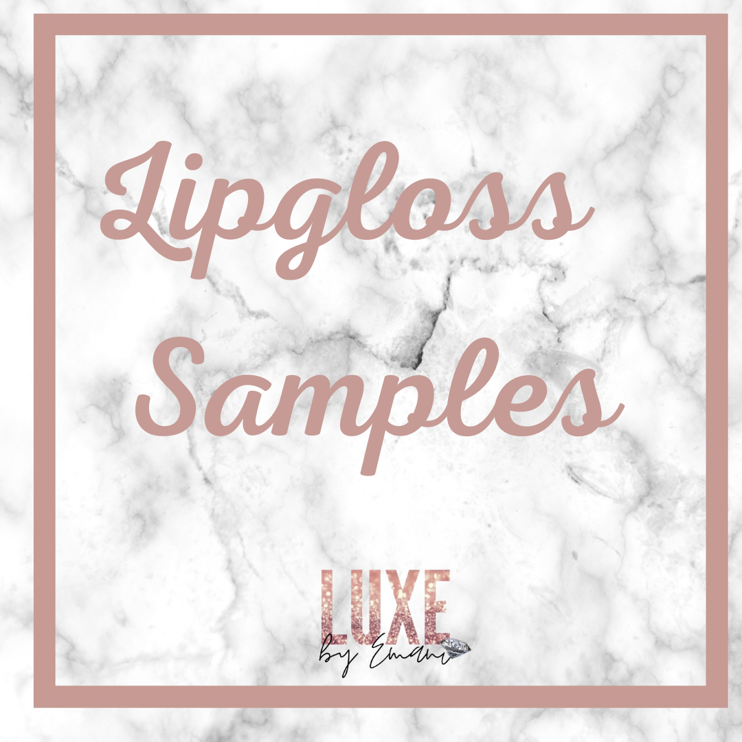 Lipgloss Samples