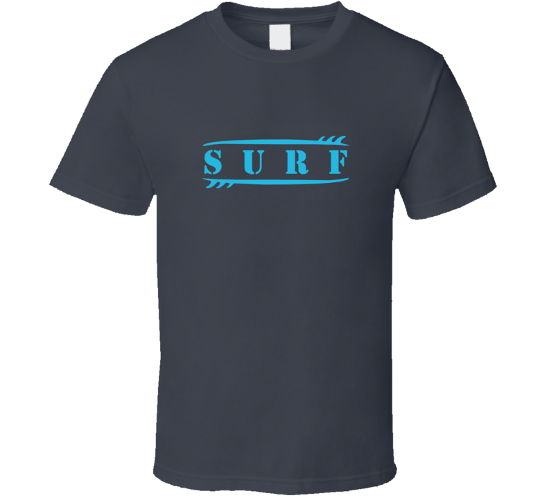 Surf Wave Surfing Surfboard Beach Summer Girl Love Sport Gift T Shirt