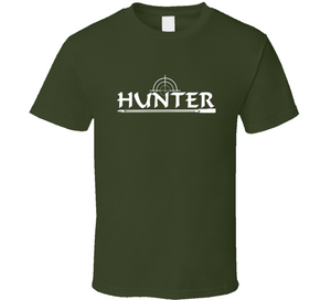 Hunter Bullet Hunting Outdoor Lover Hunt Wear Clothing Gift T Shirt