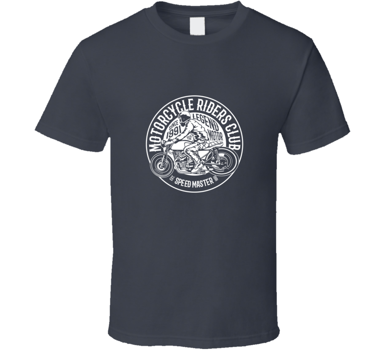 Motorcycle Riders Club Biker Chopper Gift T Shirt