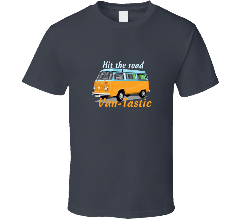 Van-tastic Cars Car Bulli Van T Shirt