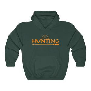 Unisex Heavy Blend™ Hooded Sweatshirt Hunting Orange Hunt Wear Clothing