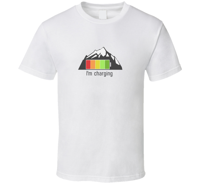 Mountian Charging Mtb Bike Climb Hike T Shirt