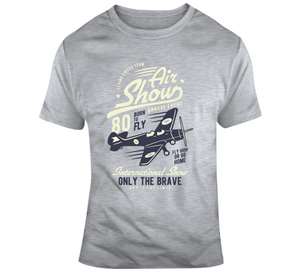 Air Show Born To Fly Flying Show Pilot Gift T Shirt