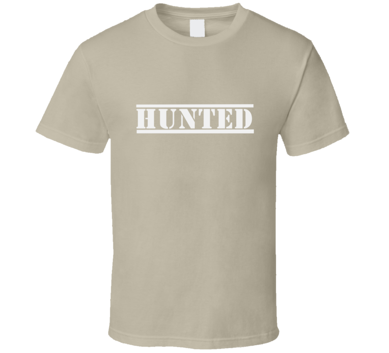 Hunted Outdoor Hunting Survival Bear Grills Hunt Wear Clothing Love Gift T Shirt