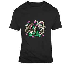 Tattoo Snake Flower Inked Ideas Lover Gift T Shirt