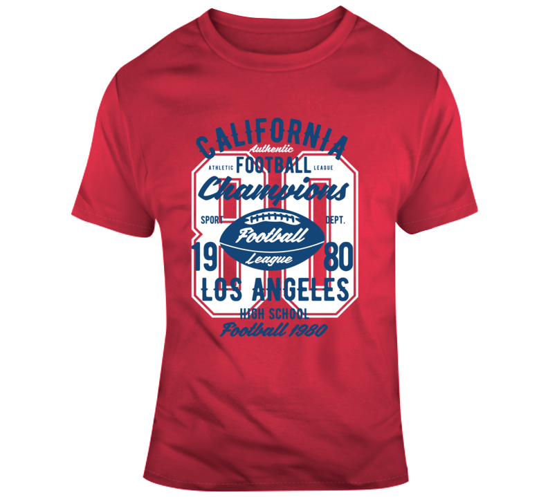 American Football Game Today Campions High School Vintage Gift T Shirt