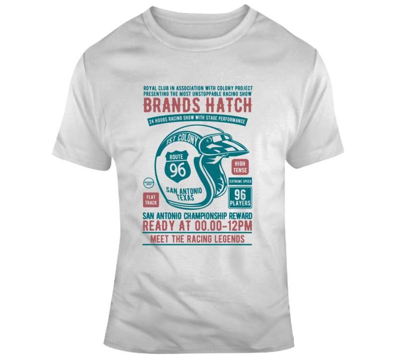 Racing Show Car Legends Route Race Vintage Gift T Shirt