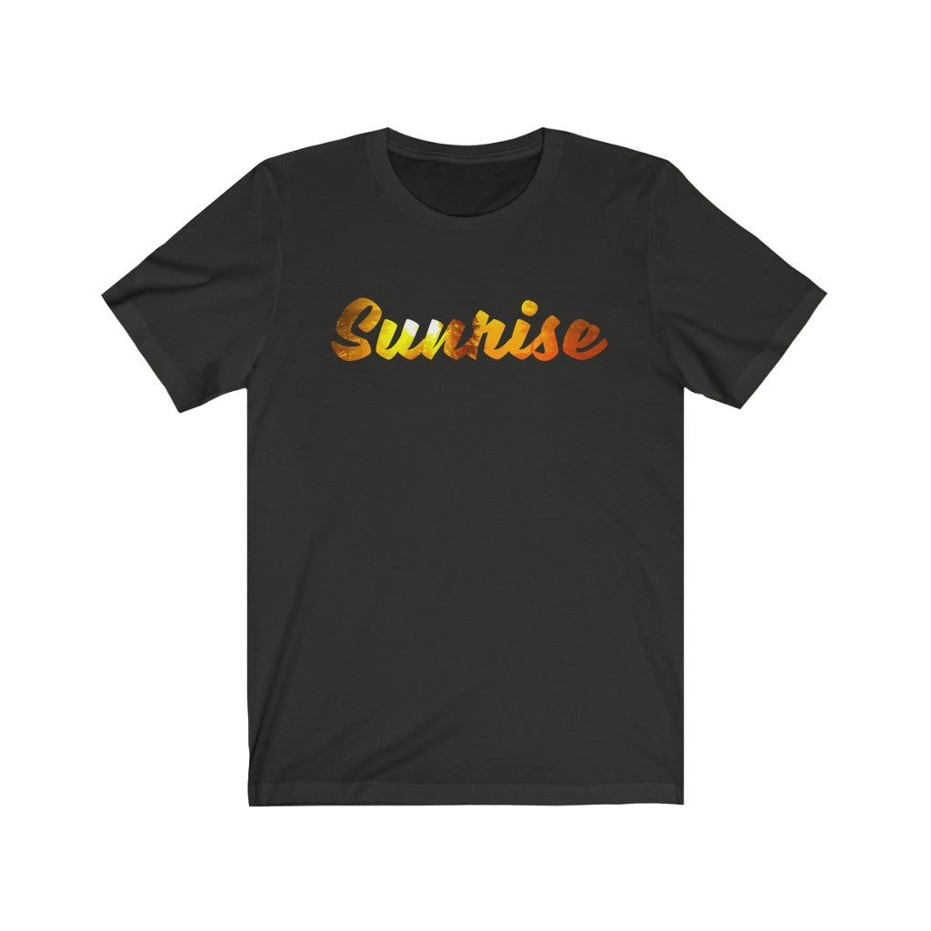 Unisex Jersey Short Sleeve Tee Sunrise Sunset Surf Time Graphic t shirt