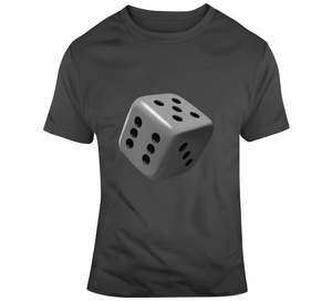 Cube Dice Casino Games Player Lover Game Gift T Shirt