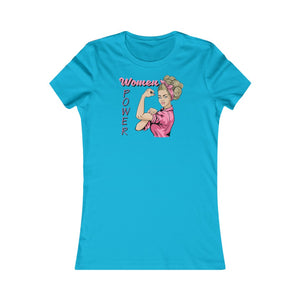 Women's Favorite Tee Power Women In of Cool Graphic T Shirt