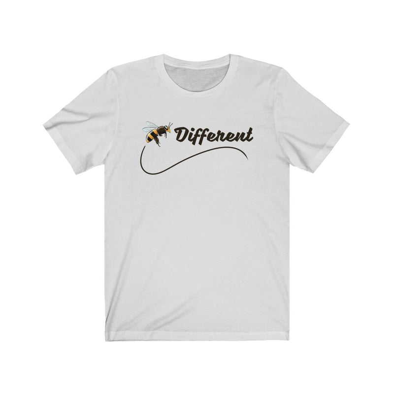 Unisex Jersey Short Sleeve Tee Bee Different Quotes World Difference T shirt