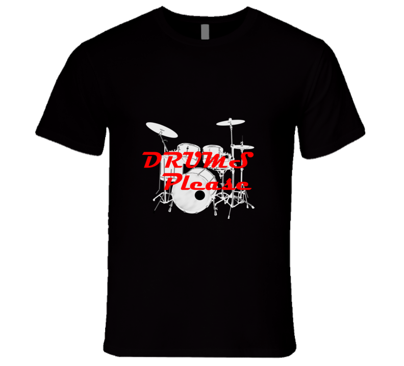 Drums Playing Duck Please Hue Drum T Shirt