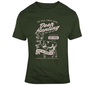 z Deer Hunting Wild Outdoor Lover Hunt Wear Clothing Gift T Shirt
