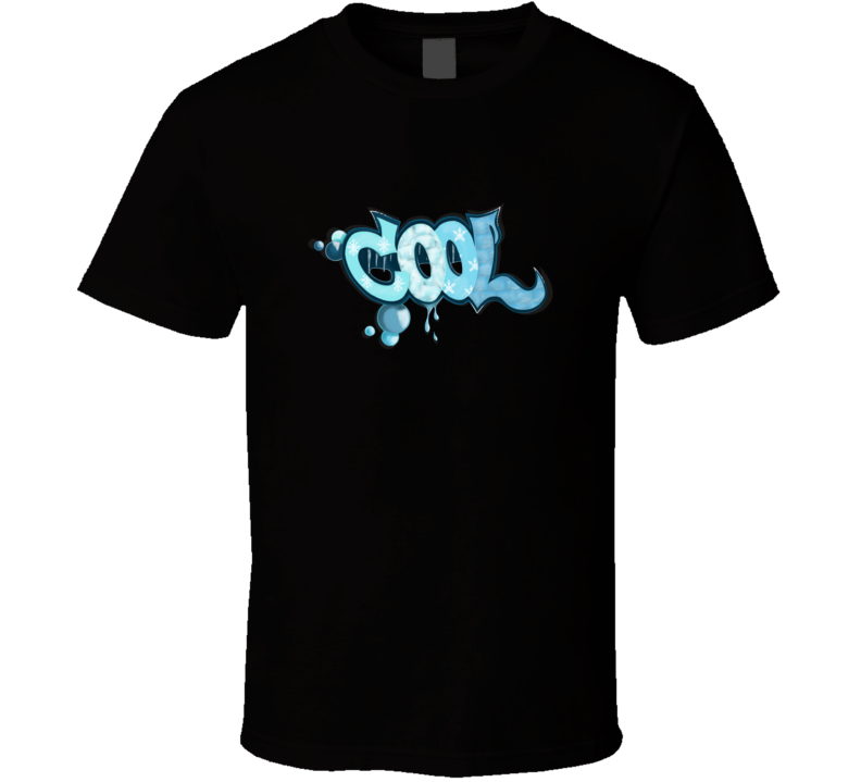 Cool Winter Graffiti T Shirt