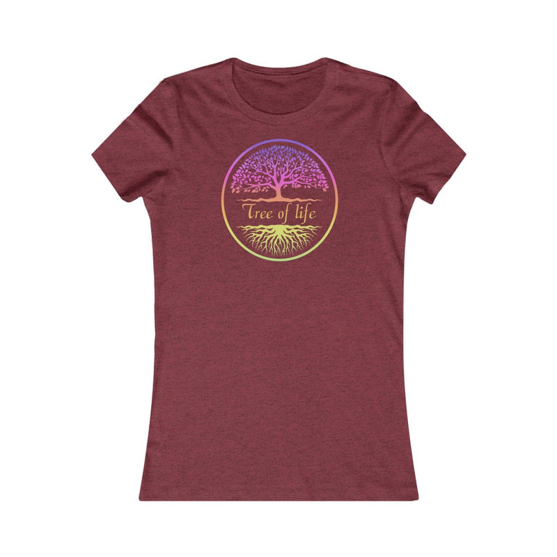 Women's Favorite la Tree of Life Meditation Yoga with Adriene home T Shirt