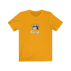 Unisex Jersey Short Sleeve Tee The King Cool Graphic t shirt