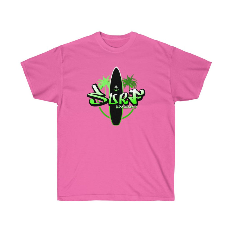 Unisex Ultra Cotton Tee Surf Brgbrand Ci Mid Surfboard Surfing T shirt