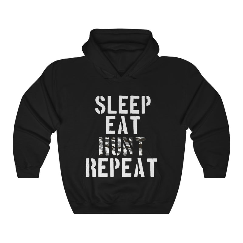 Unisex Heavy Blend™ Hooded Sweatshirt Sleep Eat Hunt Repeat Clothing Gift