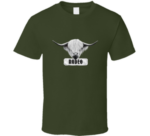 Rodeo Cow Horse Cowboy Cowgirl Ranch Life Love Gift T Shirt
