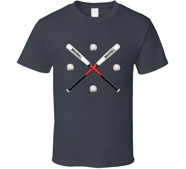 Baseball Wear Sport Ball Bat Sport Fan Gift T Shirt