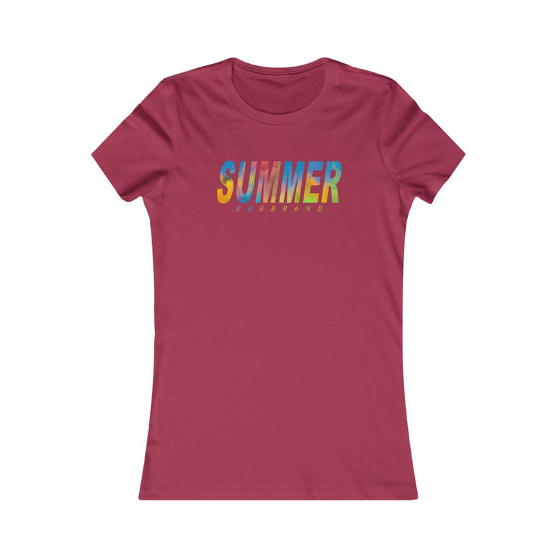 a Women's Favorite Tee Girl Summer Camp 2020 Games Tshirt