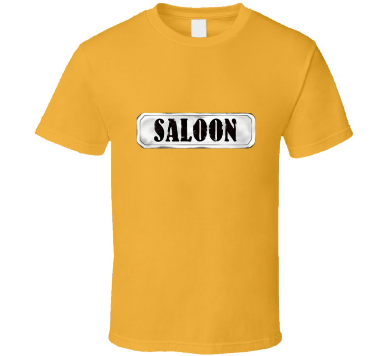Saloon Ranch Western Beer Cow Boy Girl Horse Life Love Gift T Shirt