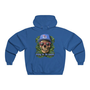Men's NUBLEND® Hooded Sweatshirt waiting for the summer Skull Surfer