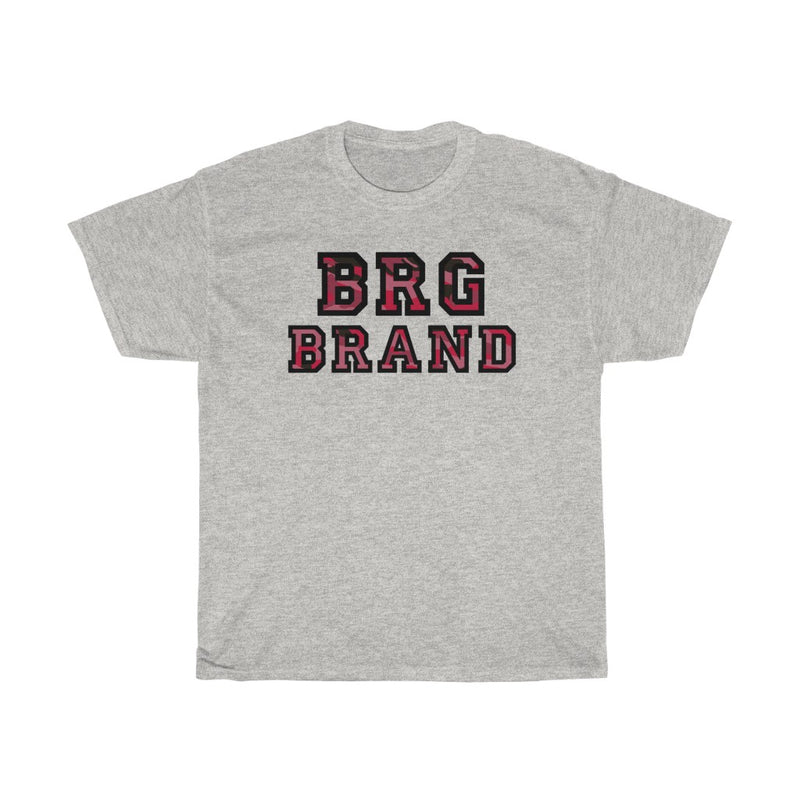 Unisex Heavy Cotton Tee Army Red Camo Brgbrand Brand Gift T shirt