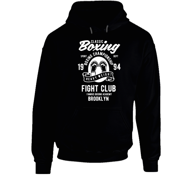 Fight Club Boxing Vintage Sport Gift Hoodie