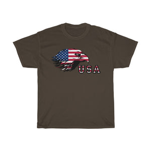 Unisex Heavy Cotton Tee The American Giant Eagle Flag 4th July 2020 T shirt