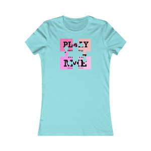 Women's Favorite Tee Come Play With Me Puzzle Cool Graphic T Shirt