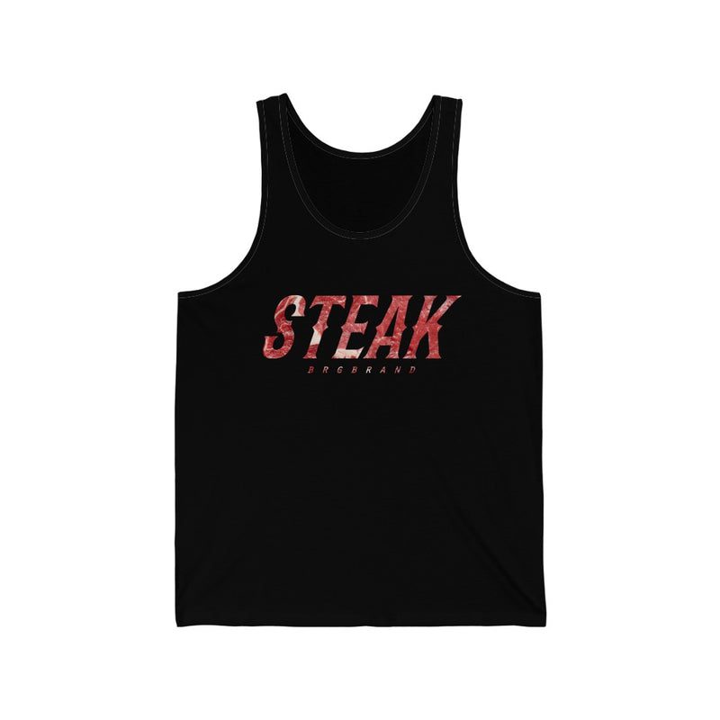 Unisex Jersey Tank Catch Steak Raw Meat Real Men Gift Top