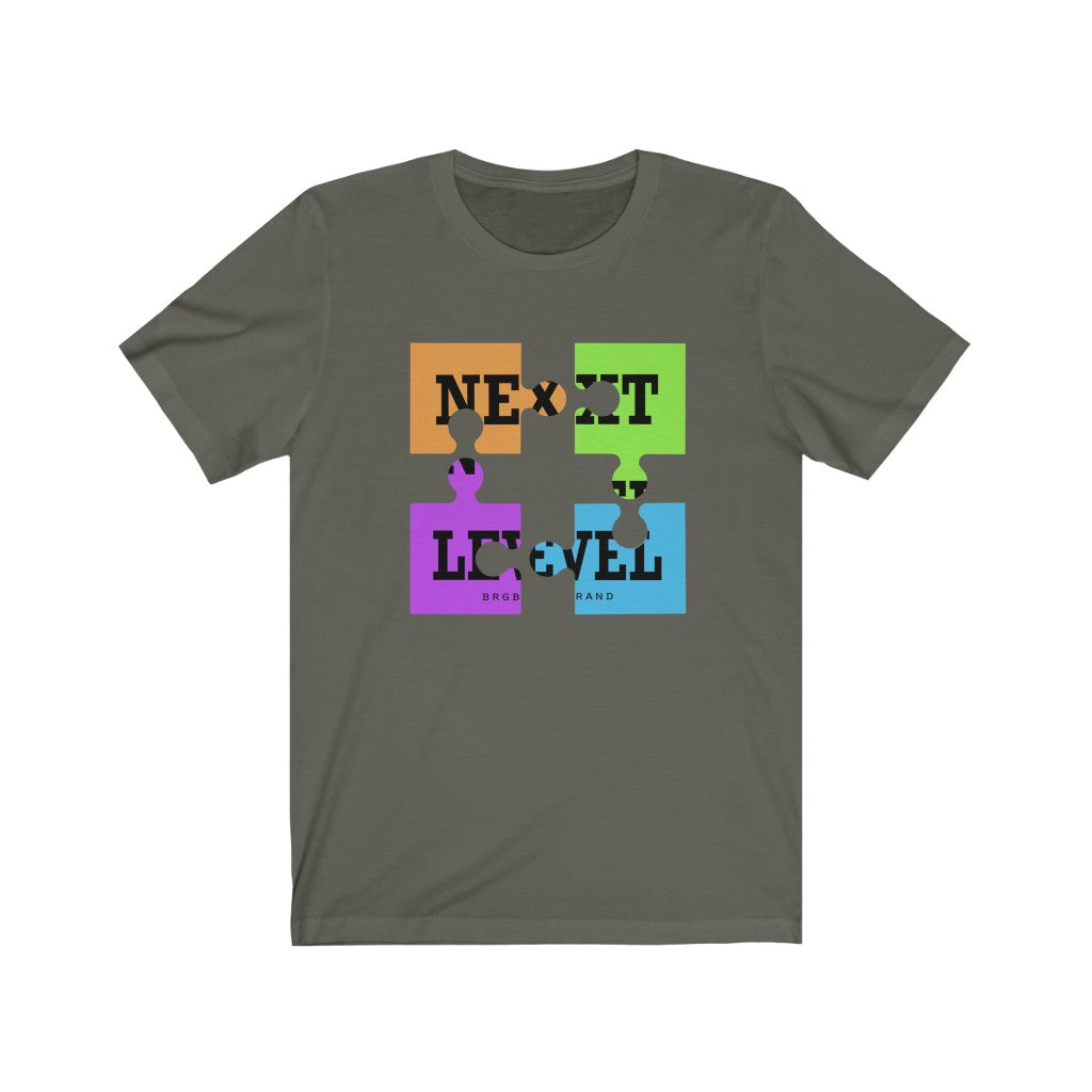 Unisex Jersey Short Sleeve Tee Next Level Game Puzzle Funny Graphic  t shirt
