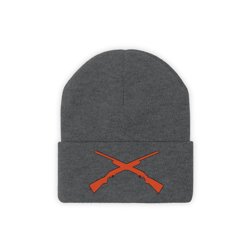 Knit Beanie Hunting Weapons Hunt Winter Wear Gift