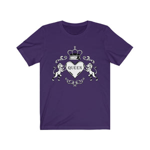 Unisex Jersey Short Sleeve Tee The Queen Cool Graphic t shirt