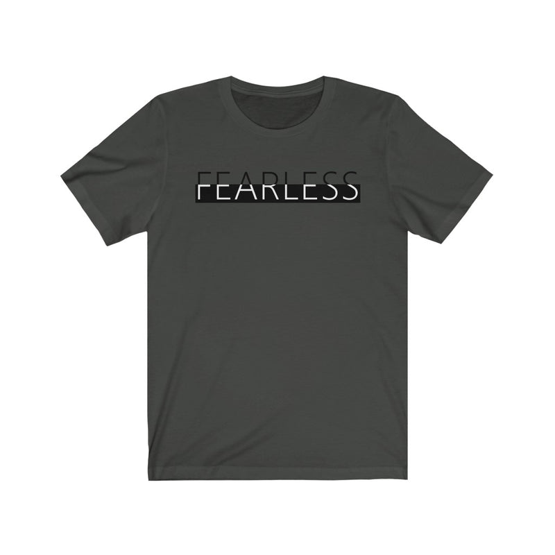 Unisex Jersey Short Sleeve Tee Fearless Cool Graphic t shirt
