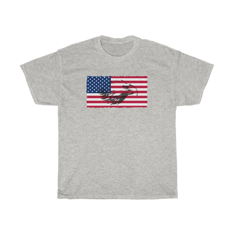 Unisex Heavy Cotton Tee The American Eagle Flag 4th July 2020 Gift T shirt